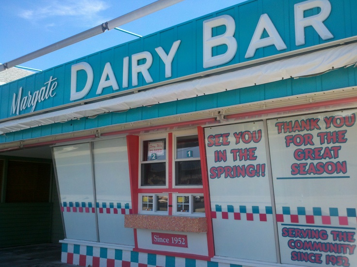 Dairy Bar, Margate, NJ. Photo: Laura B. Weiss.