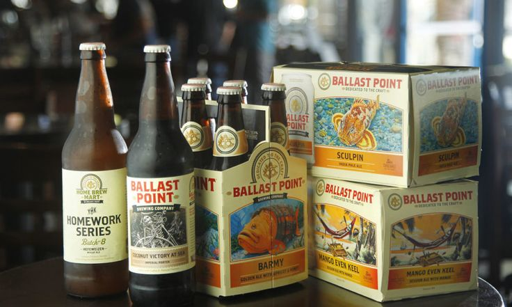 It's Official: Ballast Point now San Diego's largest brewery passes Stone #beer #craftbeer #party #beerporn #instabeer #beerstagram #beergeek #beergasm #drinklocal #beertography