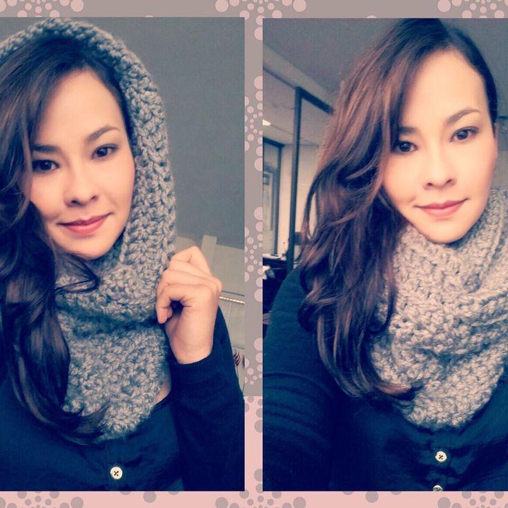 Cuello capota tejido a #crochet que agrega estilo a tu look!! Adquiérelo en lanitasycrochet@gmail.com - whatsapp 3003983512