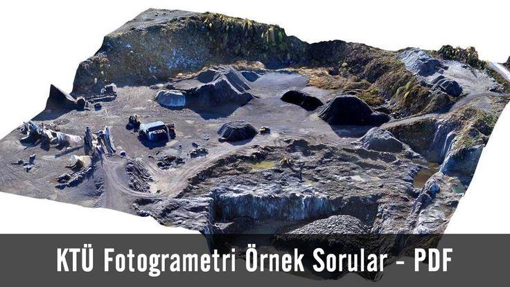 Karadeniz Teknik Üniversitesi öğrencileri tarafından hazırlanmış olup içerisinde fotogrametri sorularını barındırmaktadır.