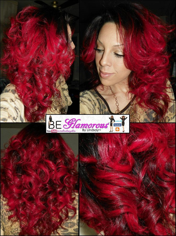 How To Dye Black Hair To Red Without Bleach February 2017