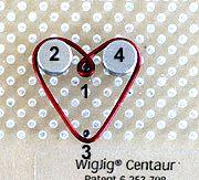 Bead Still My Heart Jewelry Wire Earrings with Beads Jewelry Making Project Peg Pattern