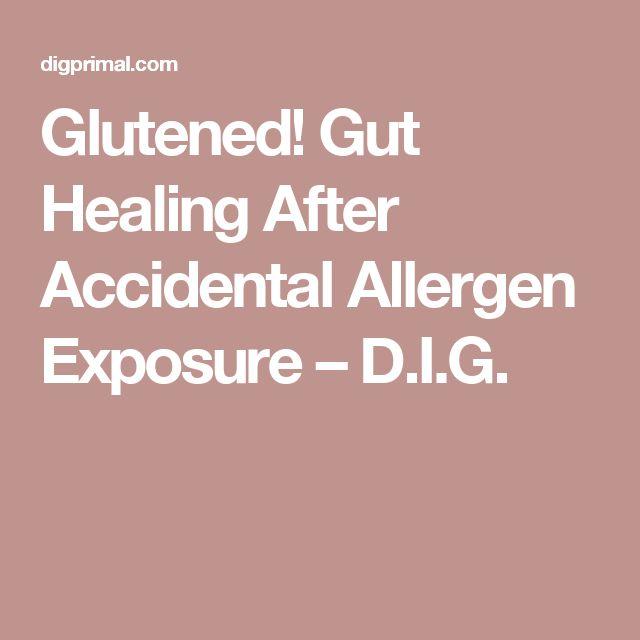 Glutened! Gut Healing After Accidental Allergen Exposure – D.I.G.