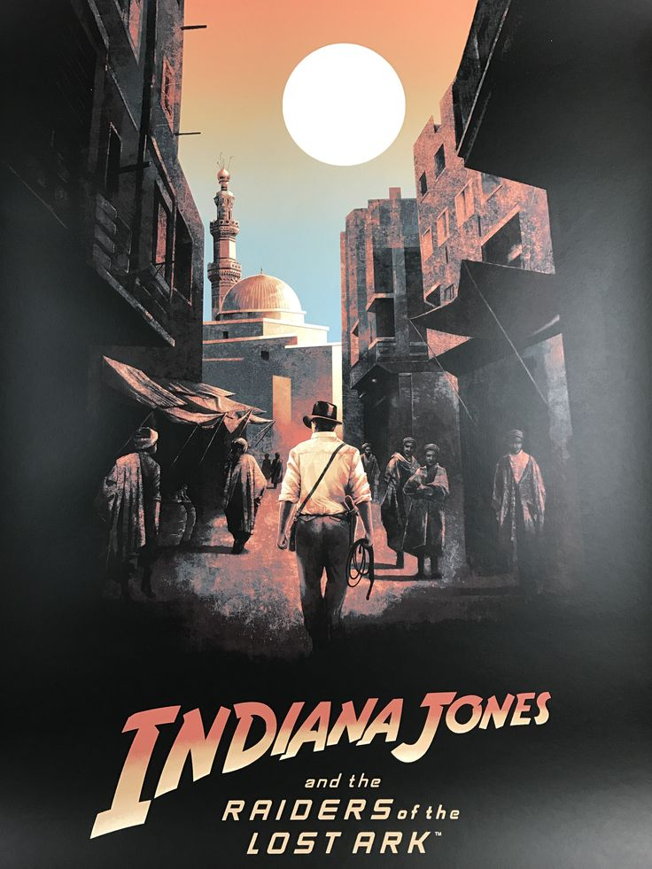 Indiana Jones - 2017 Hans Woody poster Raiders of the Lost Arc Movie