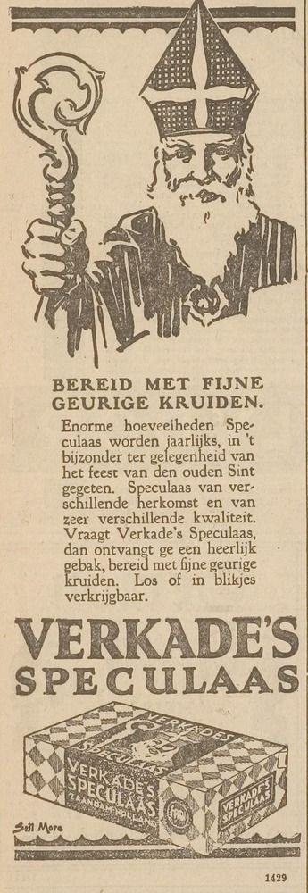 VERKADE advertentie 1927
