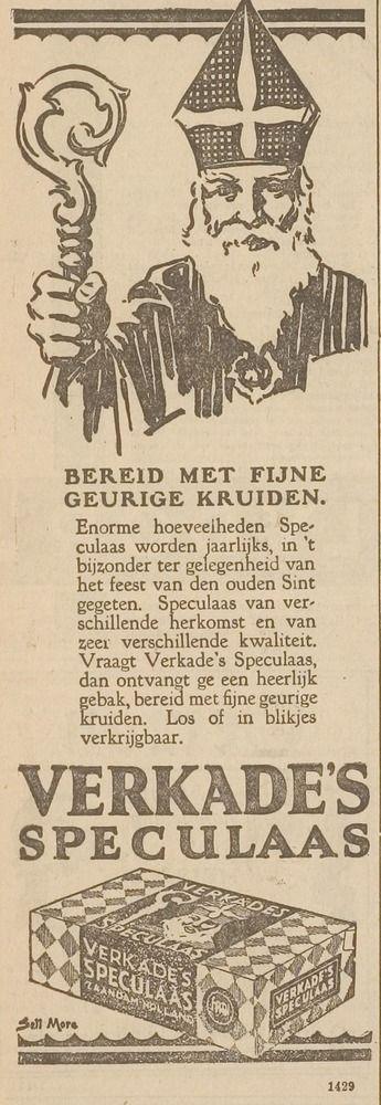 VERKADE advertentie 1927