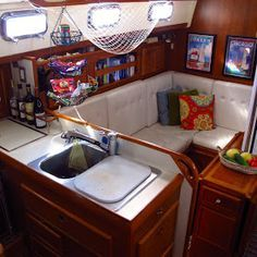 40 Best Images About Boat Curtains On Pinterest