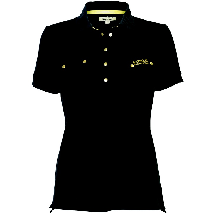 Great for the bank holiday weekend. The #Barbour #International #Polo shirt. Biker inspired Pocket detail polo shirt