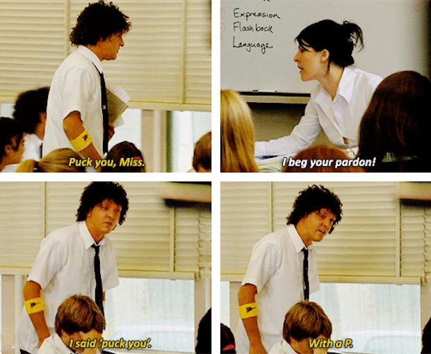 "Again, don't be afraid to speak your mind: | How To Survive High School, According To ""Summer Heights High"""