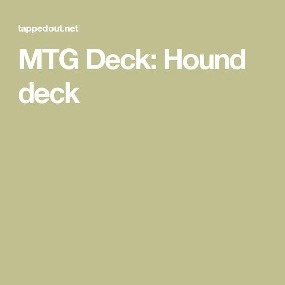 MTG Deck: Hound deck
