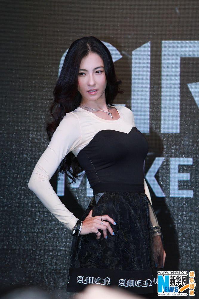Hong Kong actress and singer Cecilia Cheung