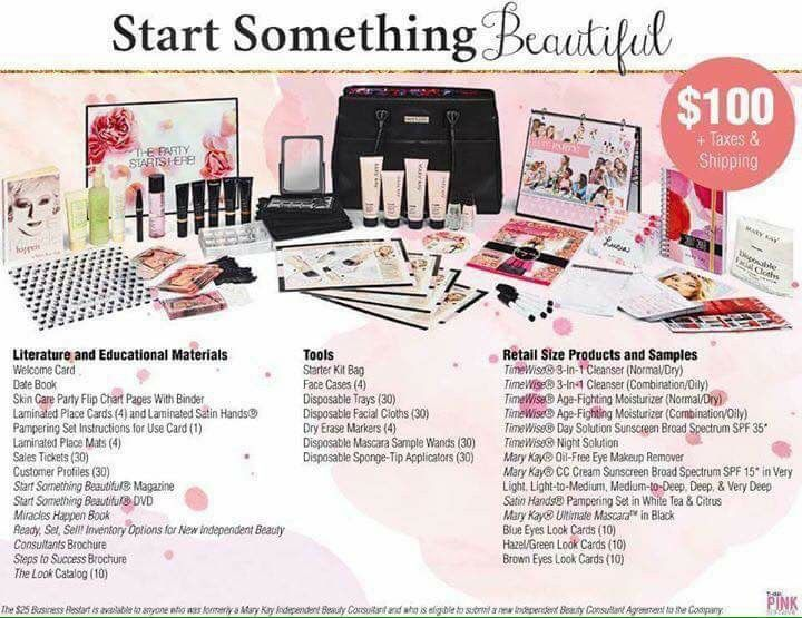 New Starter Kit!! Order yours at www.marykay.com/tlete