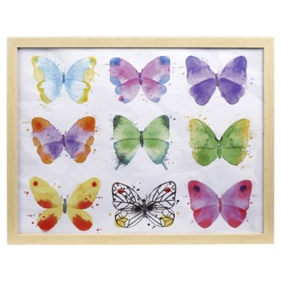 Cuadro mariposa color 40x50 cm
