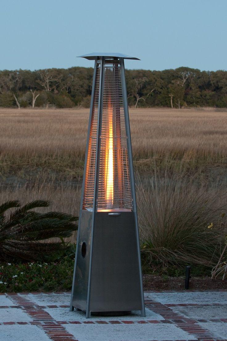 Fire Sense Pyramid Flame Propane Patio Heater Wayfair 331 40 000 Btu