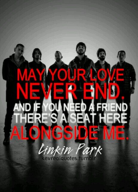 I love this!!!! Linkin Park is one of the bands that describe my feelings and who I am as a person! I love them!!!
