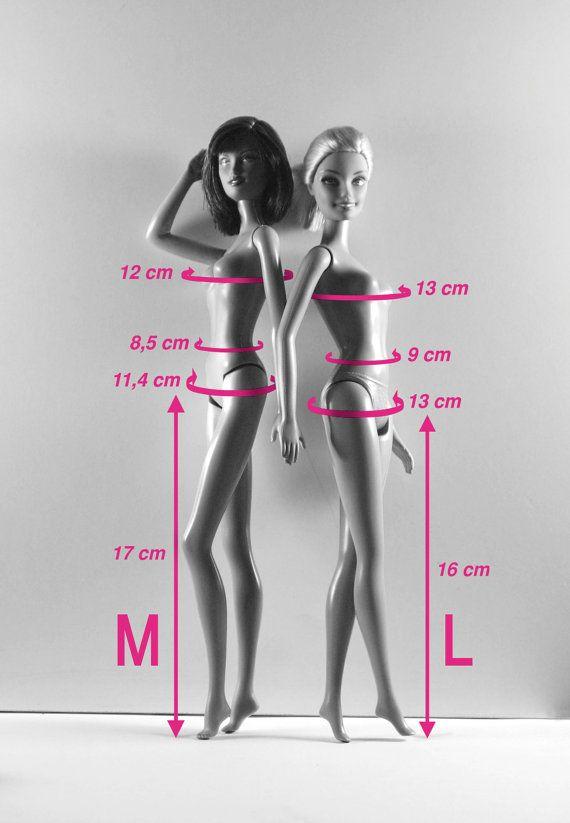 "•a size for Barbie Collector dolls (Barbie Basic, Red Carpet, etc.) •size for ""classic"" Barbie dolls (Barbie Fashionistas, Barbie & Friends, etc.)"