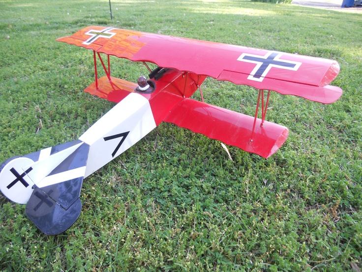 fokkerRc Airplanes