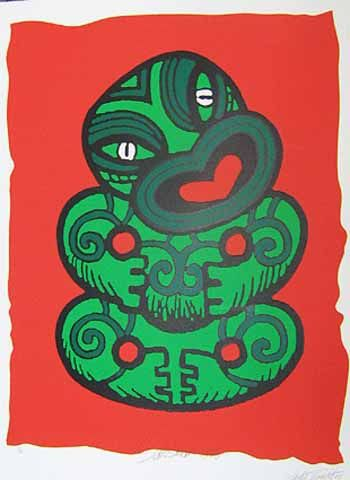 Salesman Tiki Retro Poster for Sale - New Zealand Art Prints