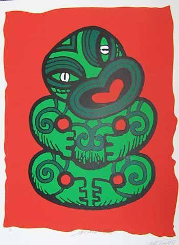 Salesman Tiki Retro Poster for Sale - New Zealand Art Prints