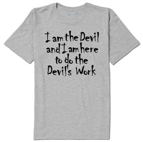 Devils Work The Devils Rejects Unisex T Shirt Clothing Horror S-5X Halloween #Gildan #BasicTee