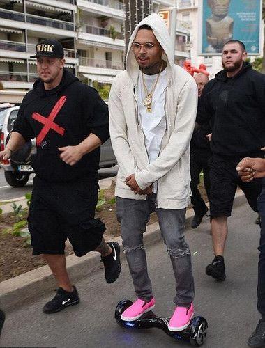 Chris Brown!! Get yours $199 @ HoverboardSafe.com