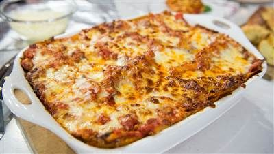 Al Roker's Vegetable Lasagna - cheesy & loaded with vegetables! : todayshow