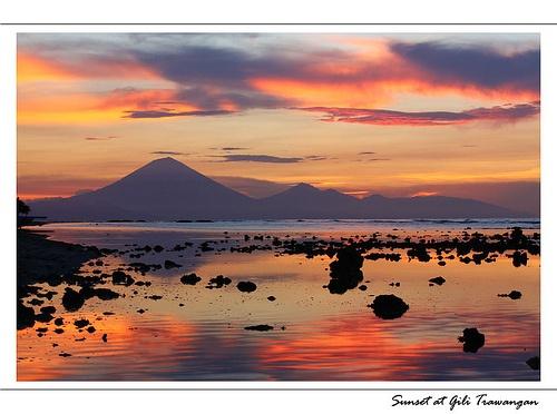 Sunset at Gili Trawangan - Lombok - Indonesia
