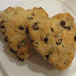 Hazelnut Chocolate Chip Scones | Recipe