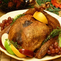 Turkey Roasting Times Chart - Home Cooking.  Bake turkey 4 - 5 hours. finished baked bird temp 165. see directions. for unstuffed bird.