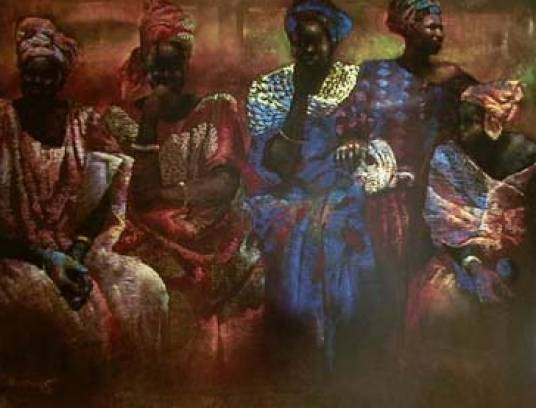 Floral Arrangement of Senegal  by Paul Goodnight