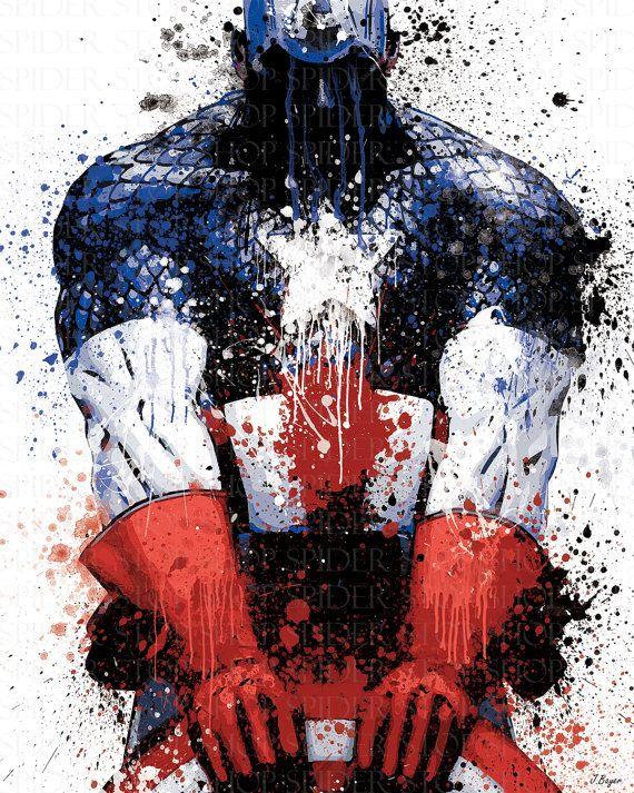 Captain America. Plateia.co #ValoralaDiversidad #CreatividadsinLimites…