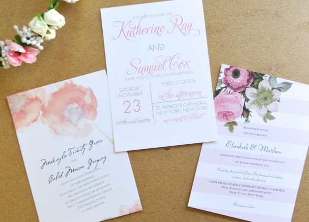 How To Choose The Perfect Wedding Invitations | Photographed By Desiree  Hartsock