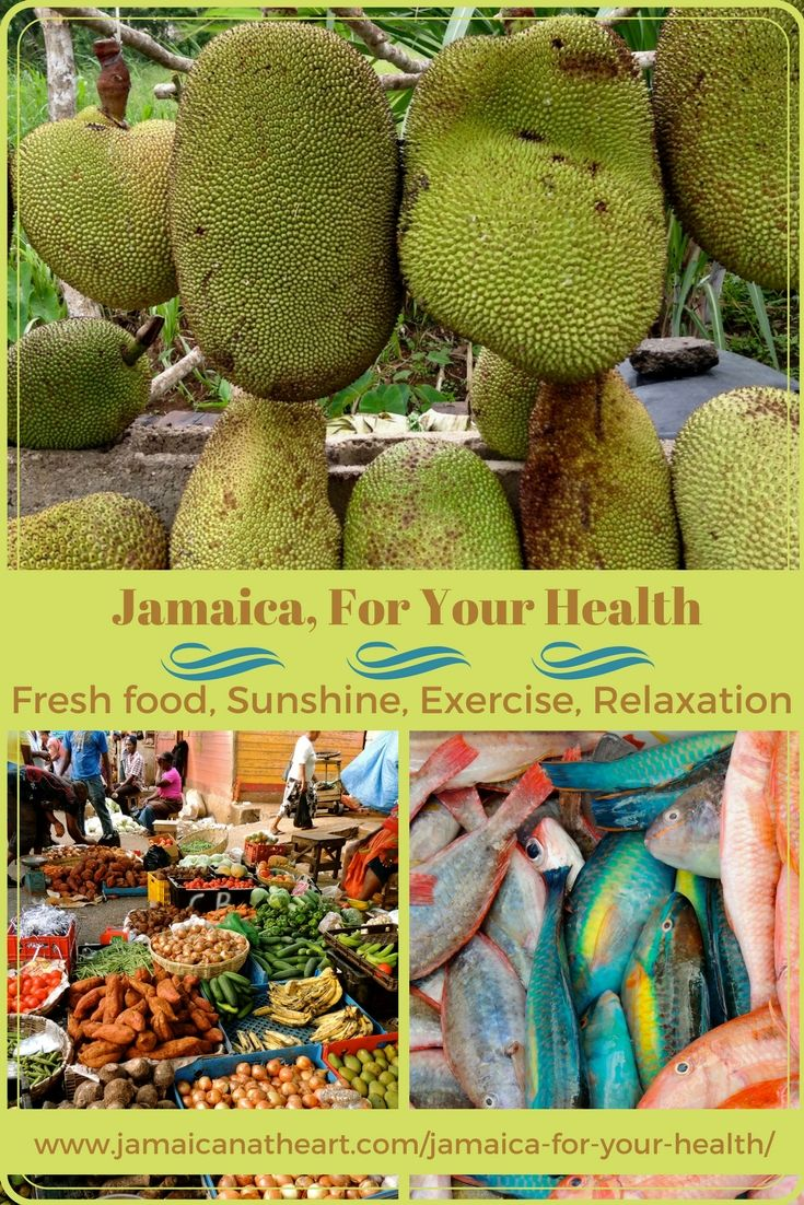 Enjoy fresh fish and fruit straight from the tree.  Let sunshine bathe your skin. Walk, swim, bike or hike. Soak in the sea, get a massage, or just sleep in.  Jamaica is all about healing what ails your soul. #jamaica #caribbeanlife #expatlife #health