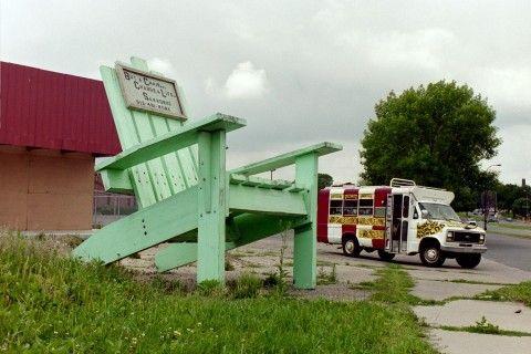 Worlds Largest Adirondack Chair