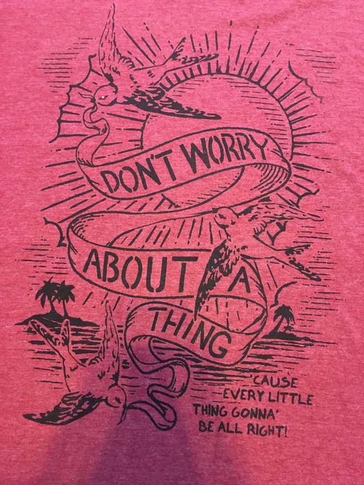 Lyric Nation Bob Marley Three Little Birds Red T-Shirt Sz XXL 2XL W/ Rhinestone #LyricNation #GraphicTee