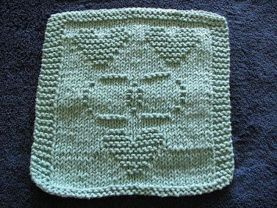 Knitted Dishcloth Patterns Wedding : 343 best images about Knit dishcloths on Pinterest Free pattern, Knit patte...