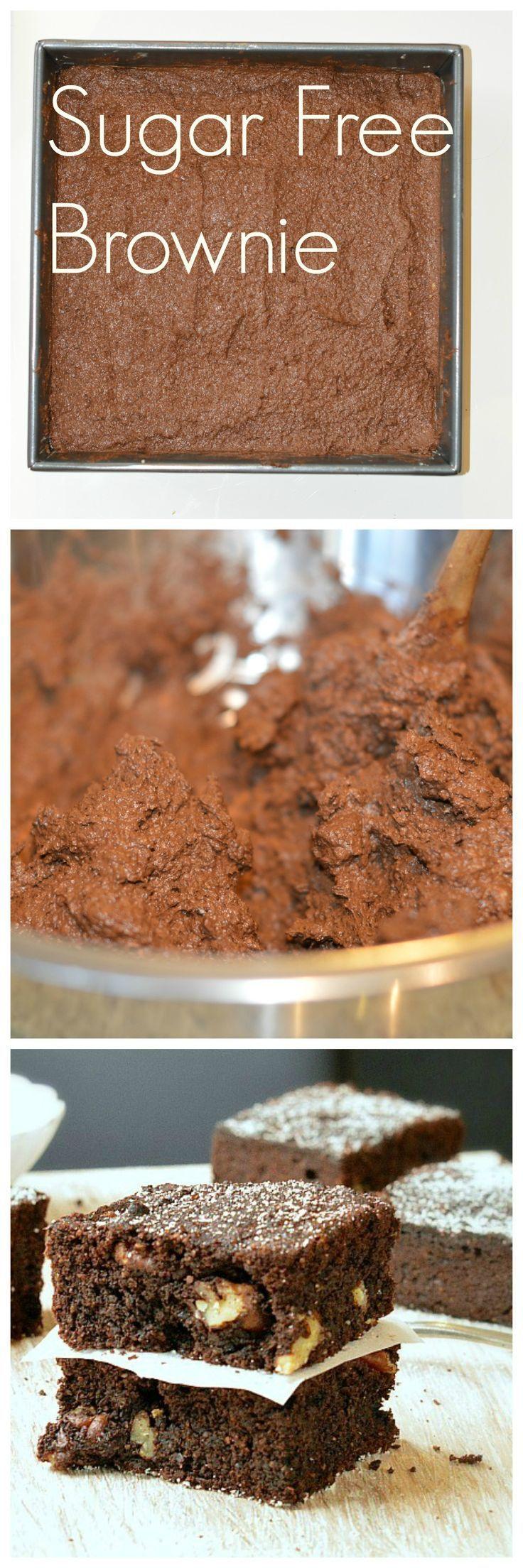 Sugar free brownies recipe | Diabetes brownie | Clean Brownie | Healthy brownie recipe