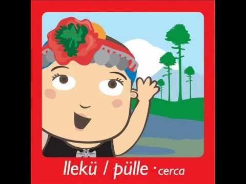 cultura mapuche para niños palabras mapudungún-castellano