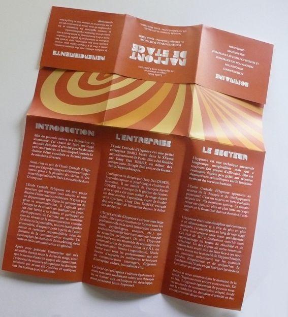 Rapport de stage d'élève de BTS Design Graphique spécialité produit imprimé