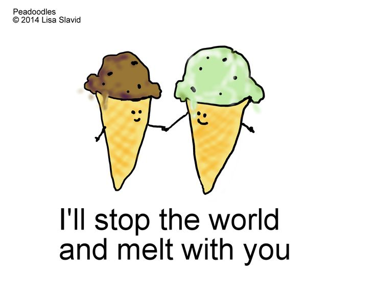 funny, punning, humor, food, ice cream, cartoons, music, love, valentines, cute