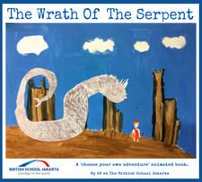 The Wrath Of The Serpent - A choose your own adventure book, by 5K at The British School Jakarta 2016