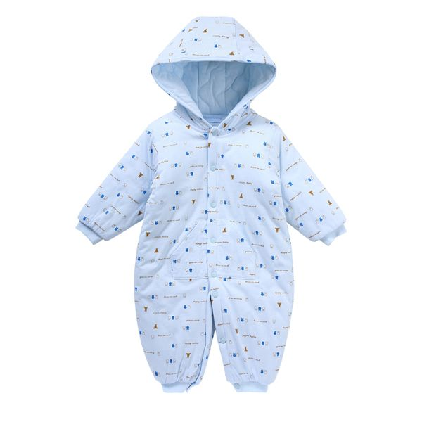 Ползунки, комбинезоны из Китая :: Умный медведь осень/зима baby onesies новорожденных теплая одежда хлопок ребенка Ромпер костюм для мужчин и женщин 3571.