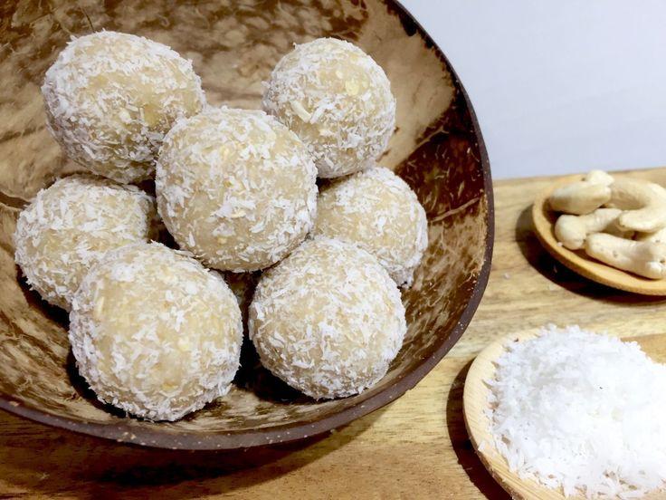Coconut minty bliss balls