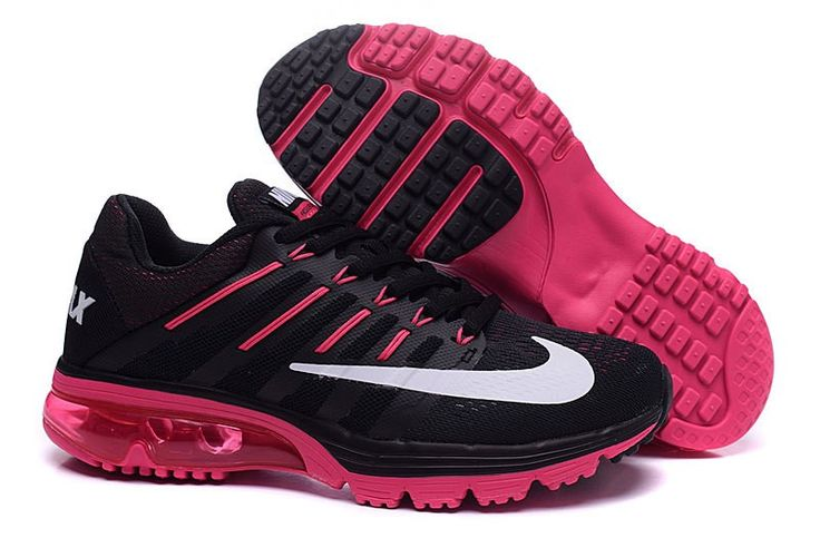 Nike AIR MAX EXCELLE RAPPE+4 806798-006 Womens shoes Running trainers Black/Pink
