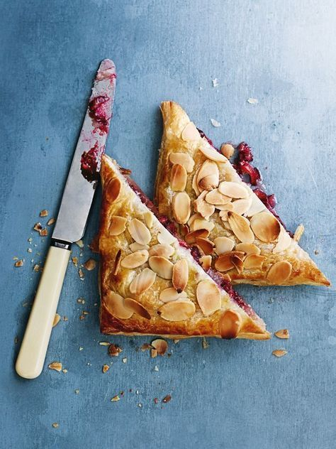 rhubarb and almond hand pies from donna hay