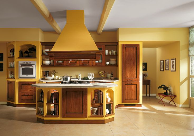 impressive italian kitchen design Design and decorating ideas for Italian kitchens