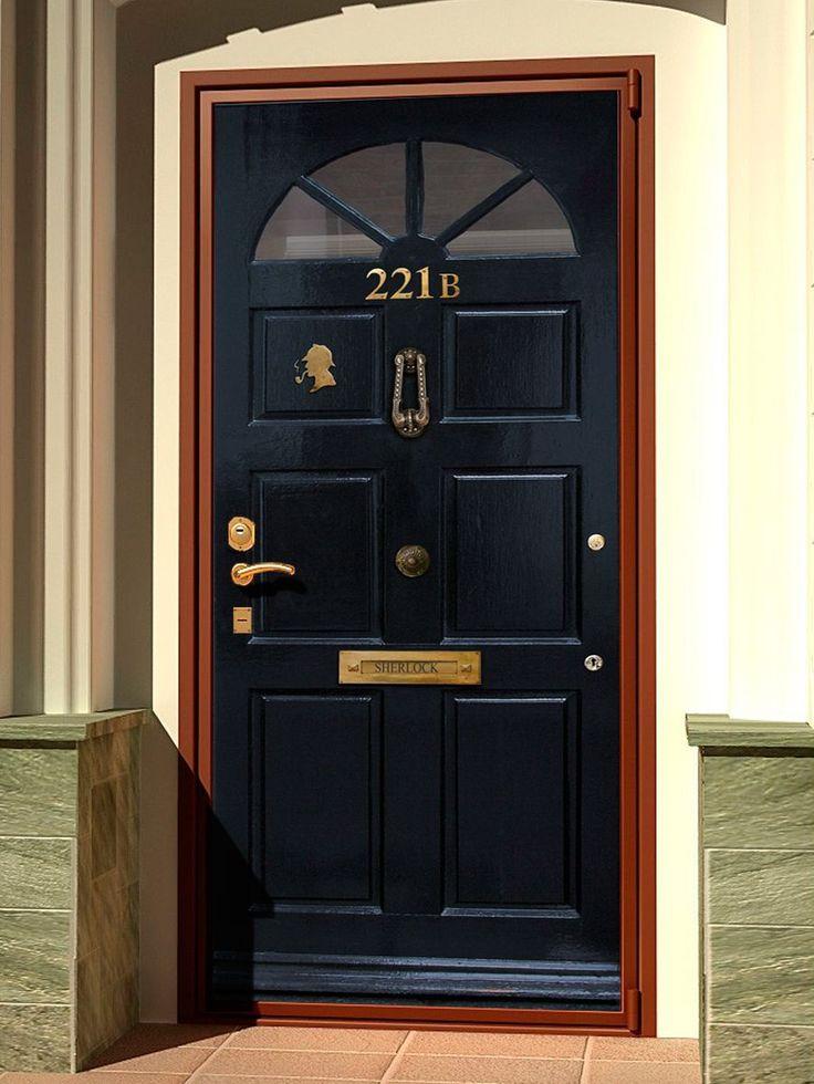 Door sticker – Sherlock Holmes, Baker Street 221b, London.