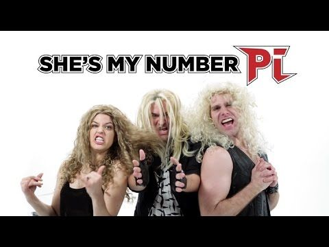"The Irrationally Long Number Pi Song (""Sweet Number Pi"") - YouTube"