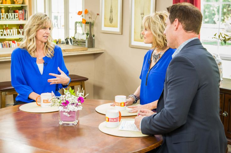 Comfort Keepers office owner on Hallmark Channel explaining how we help aging loved ones.