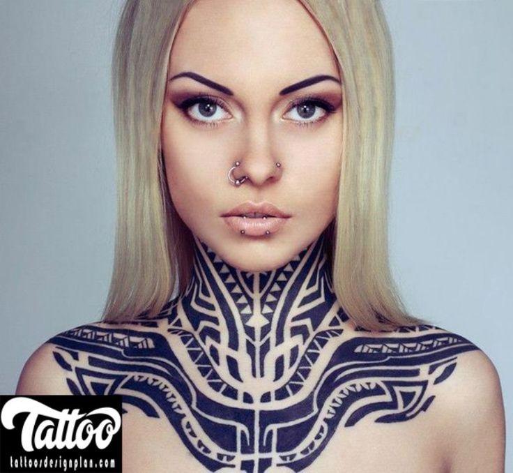 Pretty Neck Tattoos For Girls: Best 25+ Girl Neck Tattoos Ideas On Pinterest